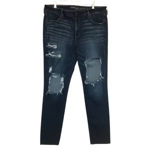 American Eagle Blowout Skinny Jeans